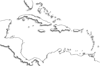 Caribbean June Go By Stølsvik - Map of puerto rico caribbean islands