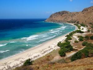 Beach in East Timor.